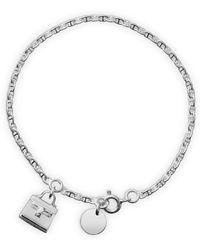 Hermes Kelly Charm Bracelet - Lyst