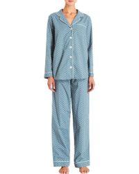 Steven Alan - Printed Pyjama Top - Lyst