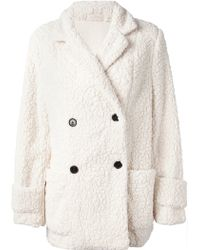Gat Rimon - Twix Fleece Coat - Lyst