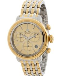 Glam Rock Two-tone Bracelet Watch - Metallic