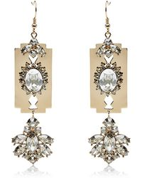 Mawi - Razor Crystal Earrings - Lyst