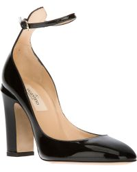 Valentino Leather Pumps - Lyst