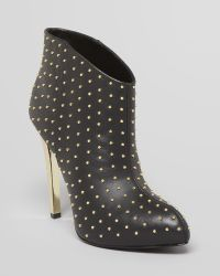 Boutique 9 | Platform Booties Faustine Studded High Heel | Lyst