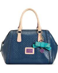 Guess Guess Handbag Specks Frame Satchel - Lyst
