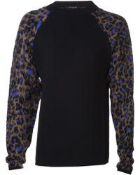 Mugler Knit Pullover - Lyst