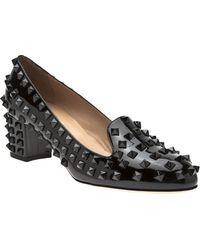 Valentino Rockstud Loafer - Black