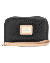 Guess - Handbag Specks Zip Around Phone Case - Lyst