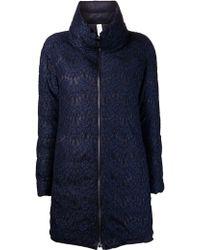 Les Copains Puffer Jacket - Blue