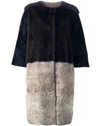 Liska Fur Coat - Lyst