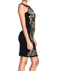 Versace Jeans Dress Sleeveless 3/4 Sleeves Milan Stitch Studs - Lyst