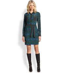 Weekend by Maxmara Fariseo Silk Printed Dress - Lyst