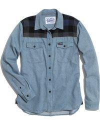 Madewell Penfield&Reg; Wayland Denim Trail Shirt - Lyst