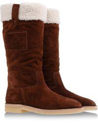 Ralph Lauren Brown Boots - Lyst