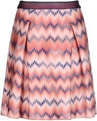 Missoni Mini Skirt - Lyst