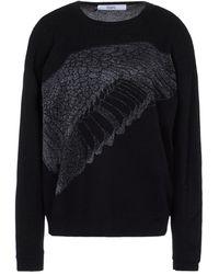 Prabal Gurung Long Sleeve Sweater - Black