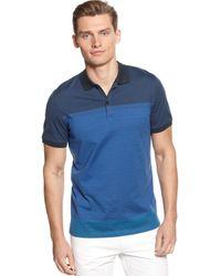 Calvin Klein Short Sleeve Jersey Polo - Lyst