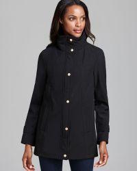 Ellen Tracy - Rain Jacket Soft Shell Button Down - Lyst