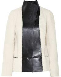 Joseph Cybil Reversible Shearling Jacket - Lyst