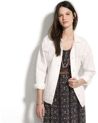 Madewell Won Hundred Denim Josie Jacket - Lyst