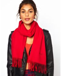 Boutique Moschino - Moschino Cheap and Chic Logo Scarf - Lyst