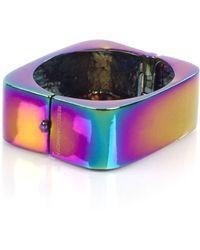 Rebecca Minkoff Hinge Rectangle Cuff - Multicolor