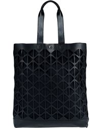 Y-3 Large Leather Bag - Black