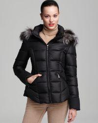 Dawn Levy Down Coat Olivia Fur Hood - Lyst
