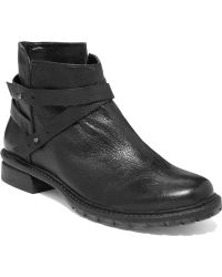 Kenneth Cole Reaction Clover Booties - Black