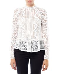 Lover - Valentine Lace Top - Lyst