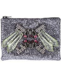 Mawi - Mawi Glitter Clutch Bag - Lyst
