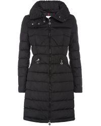 Moncler Flamme Coat - Black