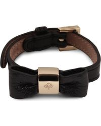 Mulberry Bow Bracelet - Lyst