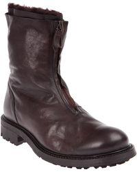 Raparo Raparo Zipped Boots - Brown