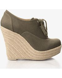 Forever 21 - Espadrille Wedges - Lyst