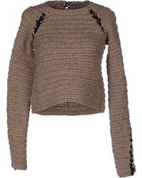 Le Moine Tricote - Long Sleeve Jumper - Lyst