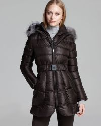 Dawn Levy Down Coat Harlow Belted - Lyst