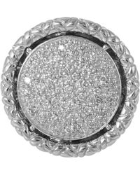 John Hardy Naga Pave Diamond Ring - Lyst