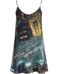 Topshop Printed Fully Lined Cami By Oh My Love multicolor - Lyst