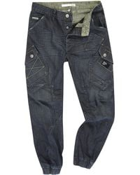 Bench - Kiedis Carrot Shaped Fitted Jeans - Lyst