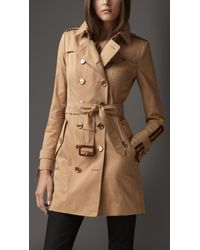 Burberry Trench Coat - Lyst