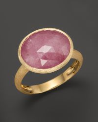 Marco Bicego - Siviglia 18k Gold Pink Sapphire Ring - Lyst