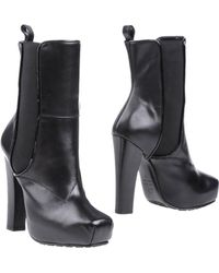 Proenza Schouler Ankle Boots - Lyst