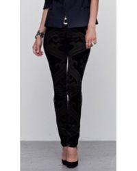 Citizens of Humanity Avedon Velvet Print Jeans - Lyst