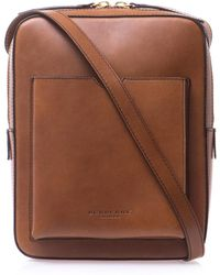 Burberry Prorsum | Leather Messenger Bag | Lyst
