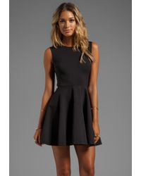 Diane Von Furstenberg Jeannie Dress in Black - Lyst