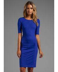 Diane von Furstenberg Raquel Dress in Blue blue - Lyst