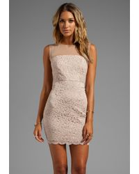 Diane Von Furstenberg Nisha Dress in Blush - Lyst
