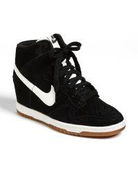 Nike Dunk Sky Hi Wedge Sneaker - Lyst
