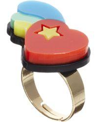 Tatty Devine - Heart Ring - Lyst