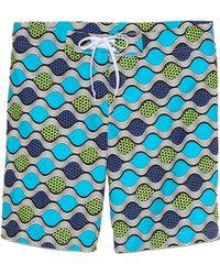 Bantu - Wavy Long Board Shorts - Lyst